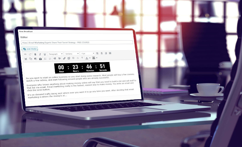 email marketing countdown timer 2